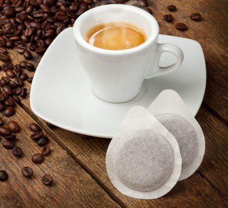 le cialde del caffe hanno un verso