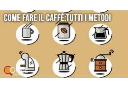 Come fare il caffè: tutti i metodi più famosi