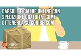 Capsule e cialde online con spedizione gratuita: come ottenerla su Coribe.com